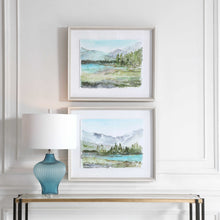 Load image into Gallery viewer, Reservoir Framed Prints, 2 Piece Set