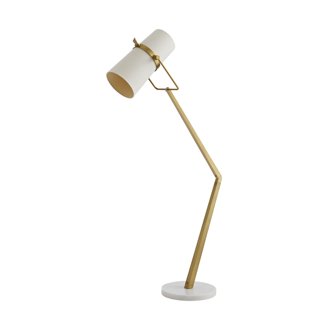 Juneau Floor Lamp (Antique Brass)