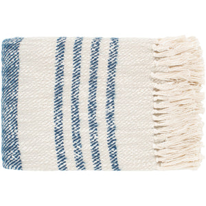 Chamomile Blue Throw