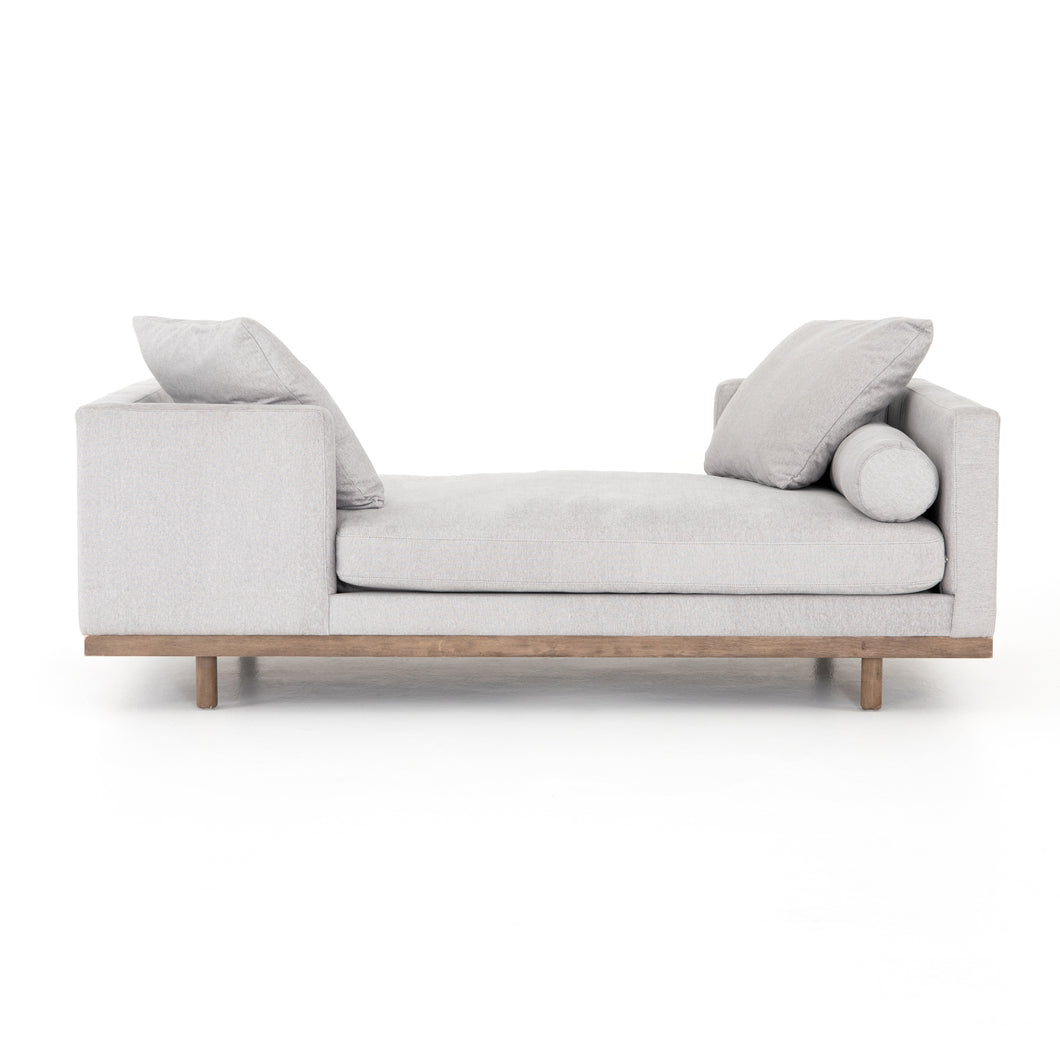 Brody One-on-One Chaise (Vail Silver)