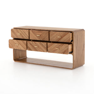 Caspar 6 Drawer Dresser