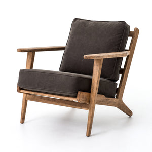 Brooke Lounge Chair (Dark Green)