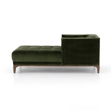 Load image into Gallery viewer, Dawson Chaise (Sapphire Olive)