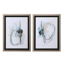 Load image into Gallery viewer, Reaction Framed Prints, 2 Piece Set