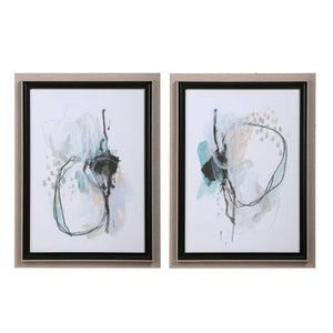 Reaction Framed Prints, 2 Piece Set