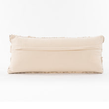 Load image into Gallery viewer, Ivory Braided Pillow, S/2