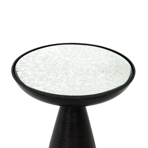 Mia Mod Pedestal Table (Brushed Bronze)