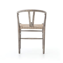 Load image into Gallery viewer, Mark Dining Chair (Weathered Grey Teak)