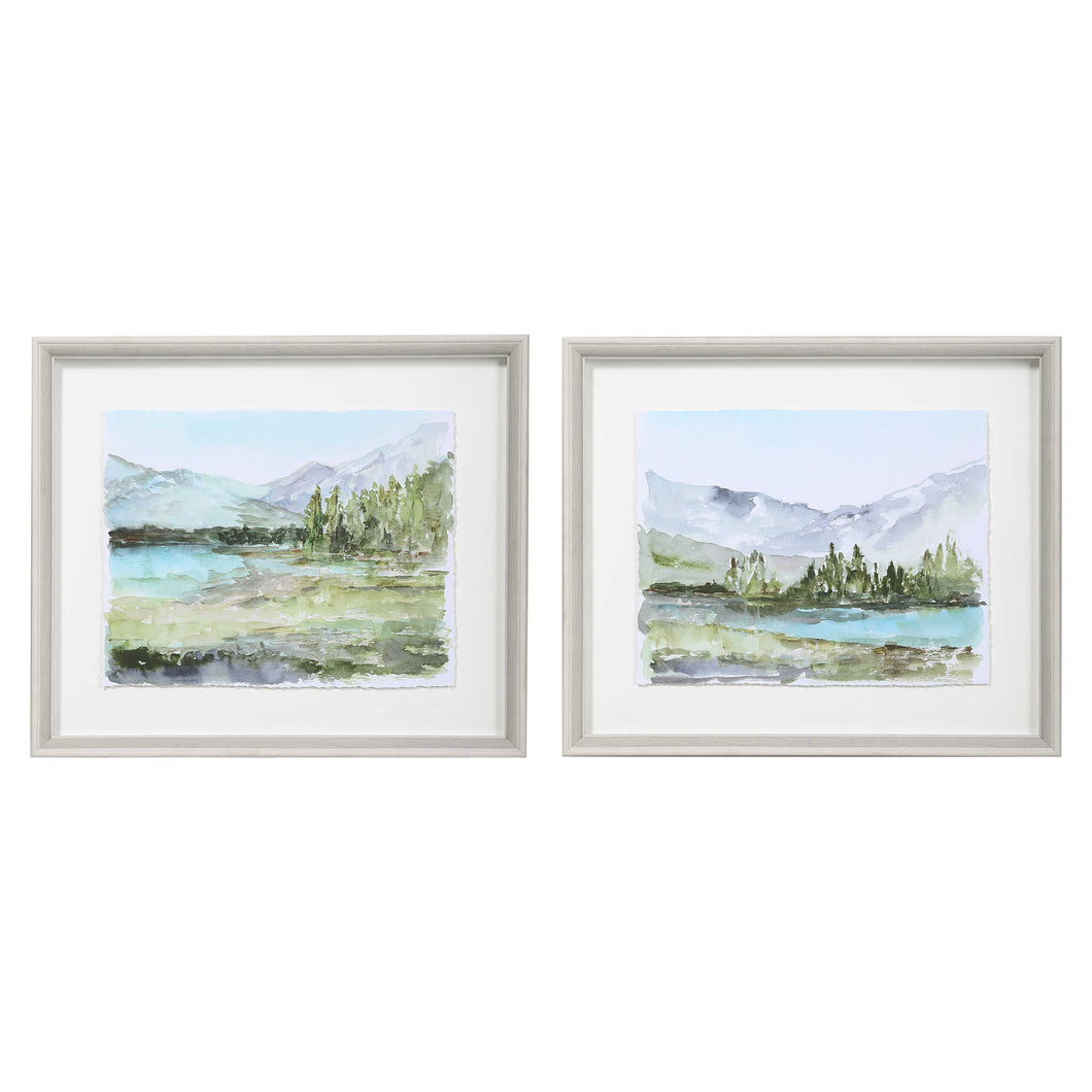 Reservoir Framed Prints, 2 Piece Set