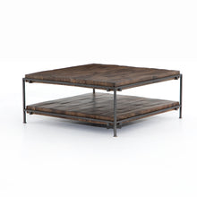 Load image into Gallery viewer, Simon Square Coffee Table (Gunmetal)