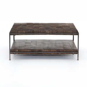 Simon Square Coffee Table (Gunmetal)