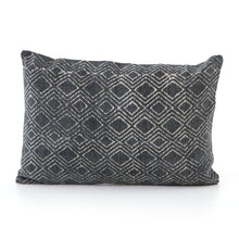 Load image into Gallery viewer, Charcoal Revival Pattern Pillow, S/2