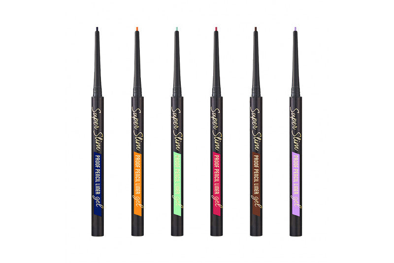 Super Slim Proof Gel Pencil Liner