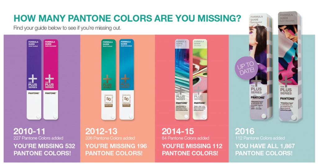 How Many Pantone Colours Are You Missing