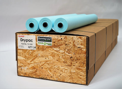 Baldwin Drypac Mini Wash-Up Rolls for Offset Printers