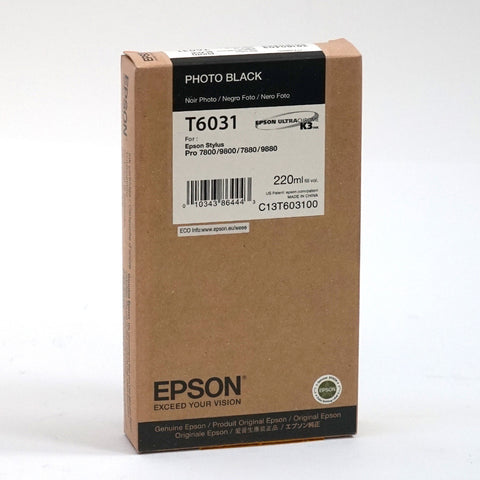Genuine High Capacity Epson Stylus Pro 7880 Ink Cartridges (220ml)