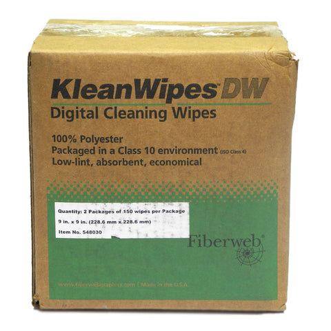 Fiberweb Kleanwipes DW (Digital Wipes) - Box