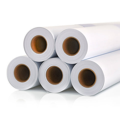 MATT WHITE POLYESTER ROLL UP FILM 185MIC (30M) (3'' CORE)