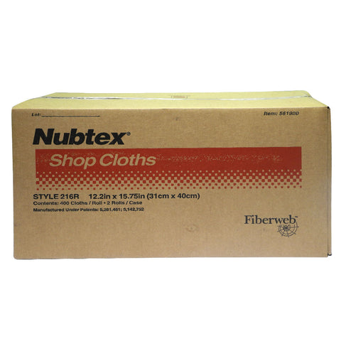 Fiberweb Nubtex Shop Cloths