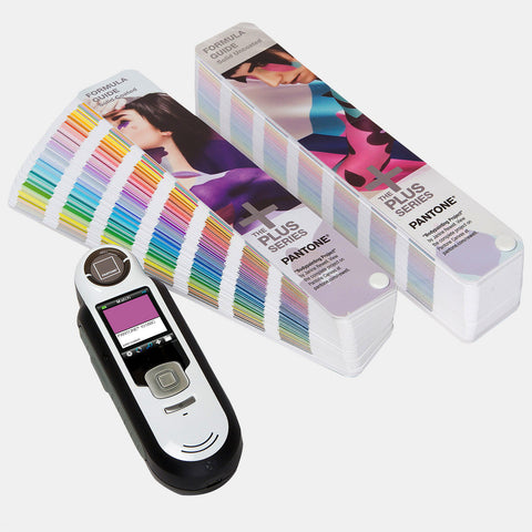 Pantone CAPSURE Device matches any colour on any surface. Complete with Pantone Formula Guide for 1,867 PMS colours.