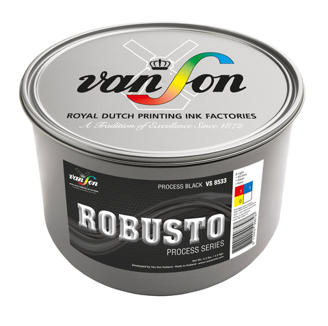 Van Son Robusto 4-Colour Process Printing Ink (High Rub)