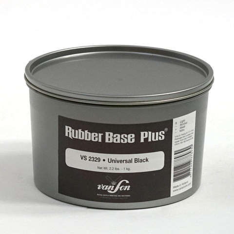Rubber Based Plus Universal Black Offset Printing Ink