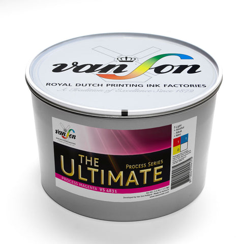 Van Son Ink (Ultimate 4-Colour Process Printing Ink)