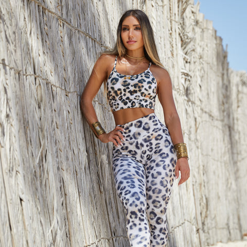 Limited Edition Leopard Crop Top