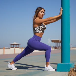 Elite Leggings in Purple Iris