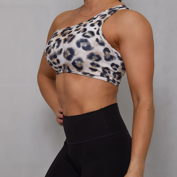 Maeya Clothing Leopard Print Sports Bra and Leggings