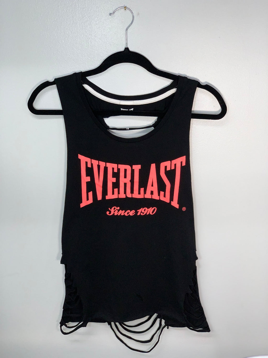 Everlast Muscle Tank Cut Up by SnipTease