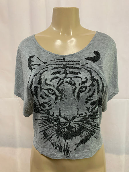 Tiger Crop Cut Up By SnipTease