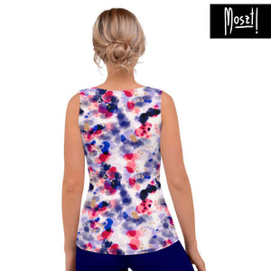 Nebula Fitted Tank Top