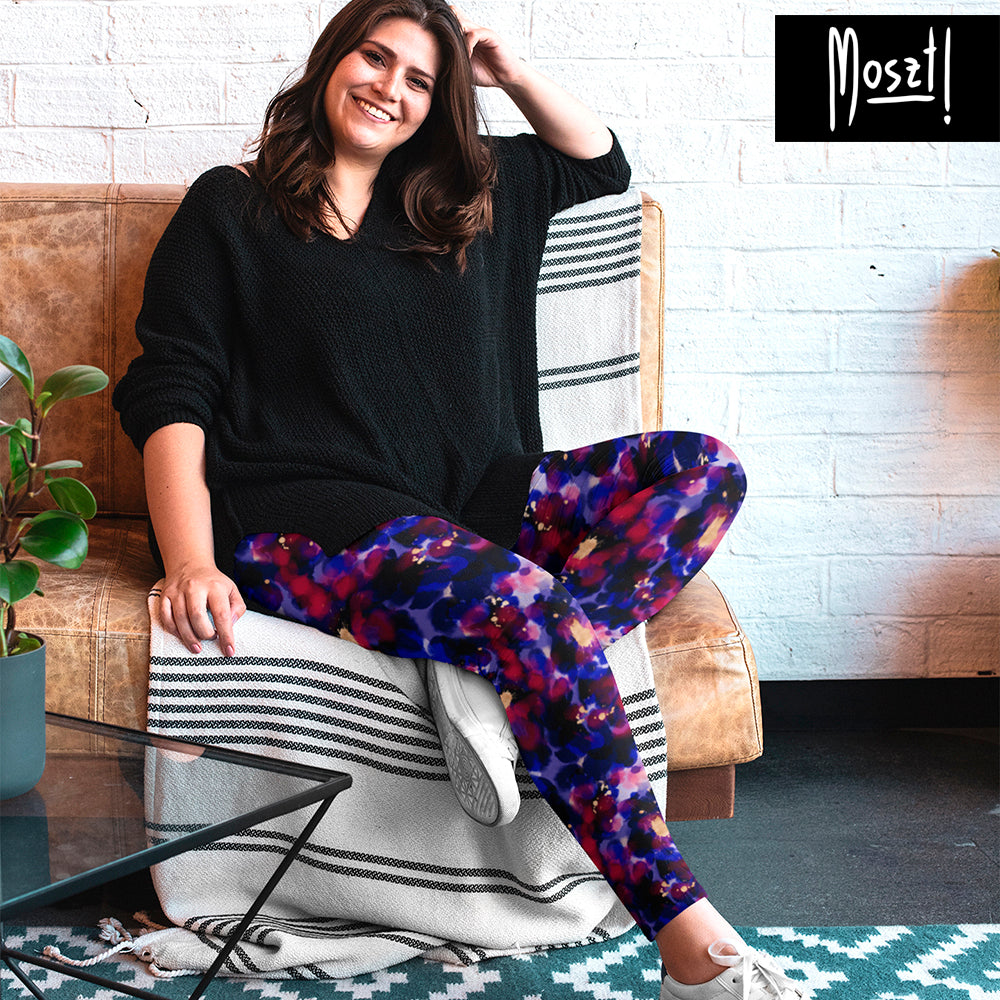 Nebula Plus Size Leggings