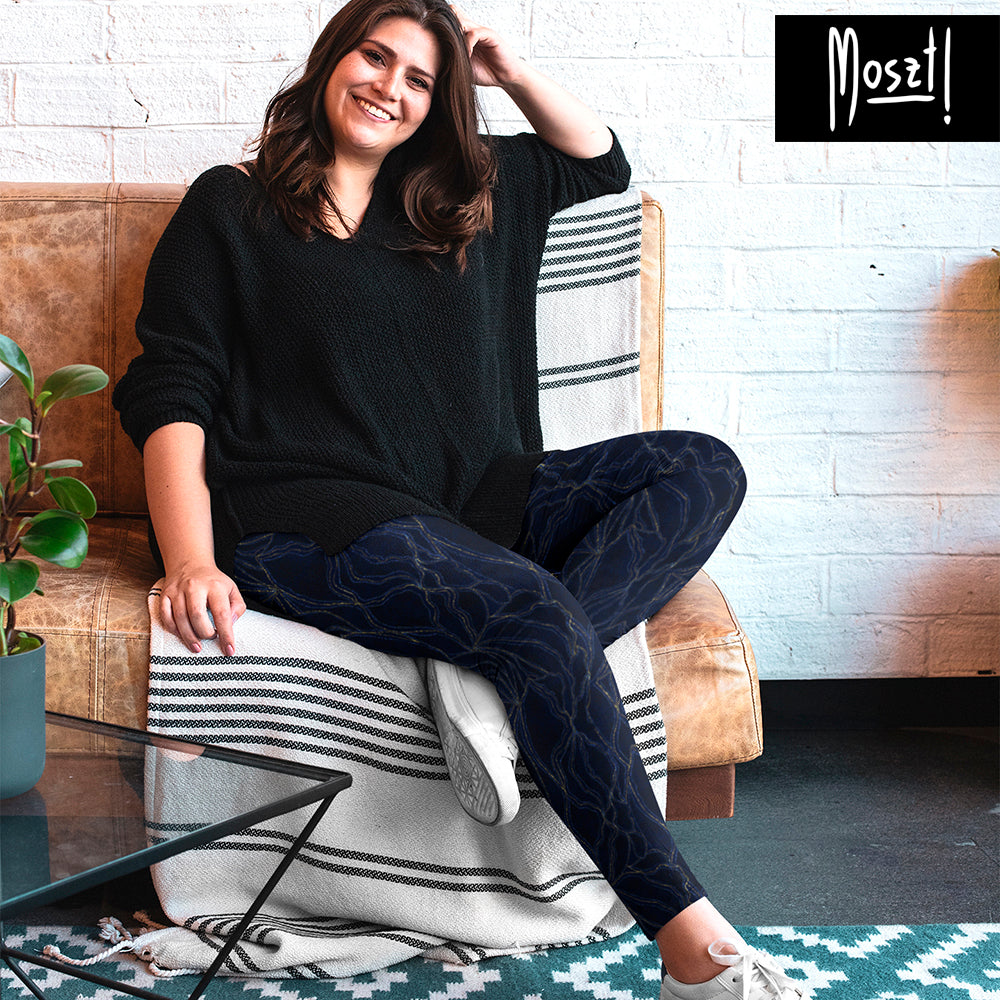 Lotus Plus Size Leggings