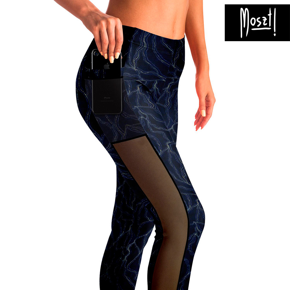 Lotus Mesh Pocket Leggings