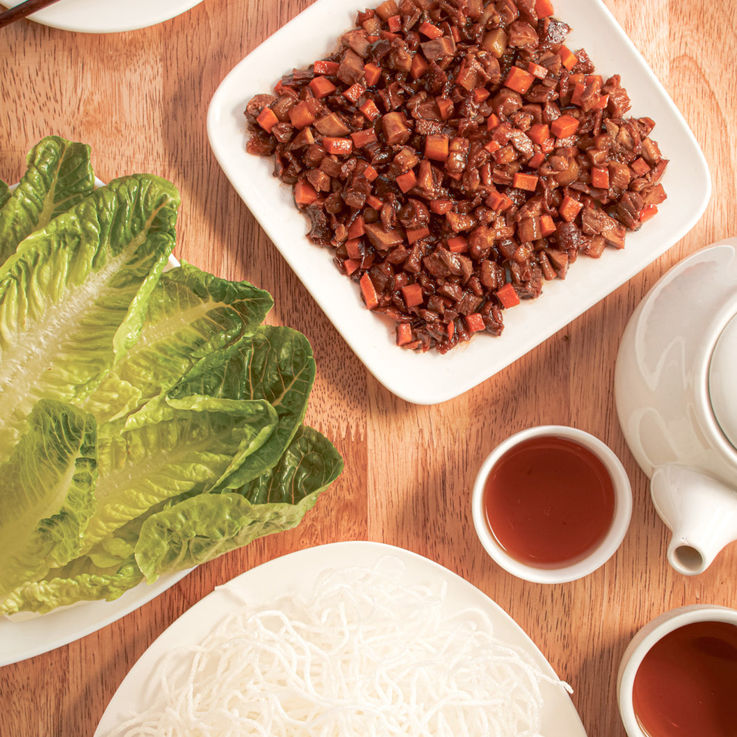 Kit 6: Minced Duck Lettuce Wrap