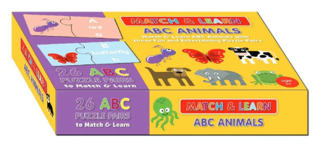 ABC Animals Match & Learn Box Set