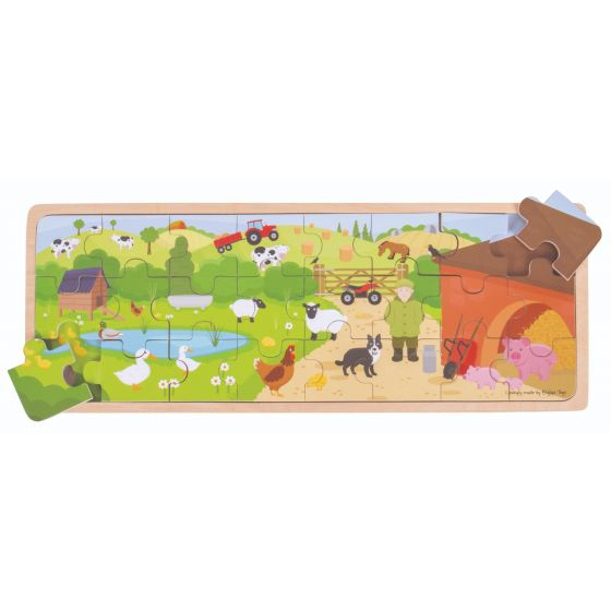 BigJigs On the Farm Puzzle