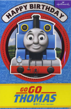 Birthday Card - Go Go Thomas