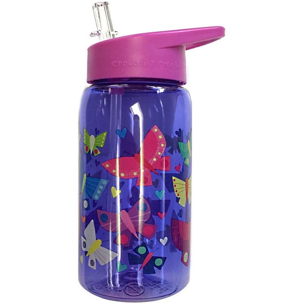 Crocodile Creek Butterflies Drink Bottle