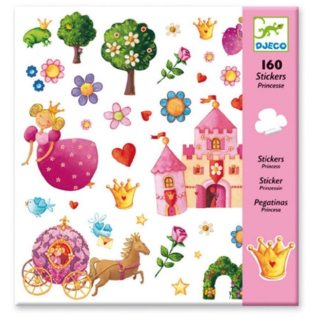 Djeco Stickers Princess