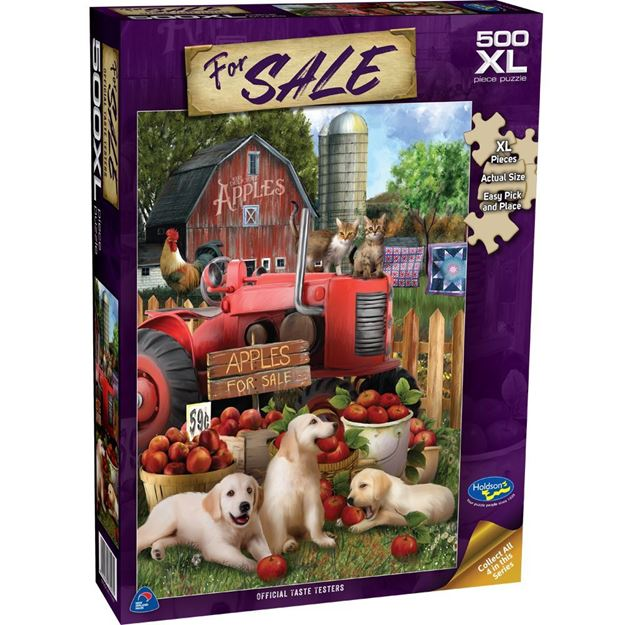 For Sale Taste Testers Puzzle 500XL