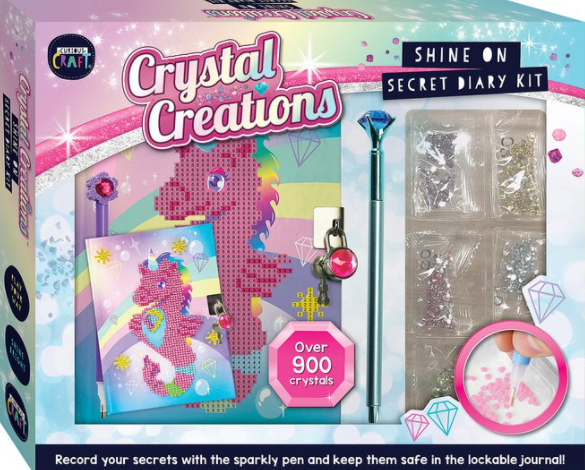 Hinkler Curious Craft Creations Shine on Diary Kit