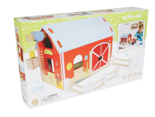Le Toy Van Wooden Red Barn