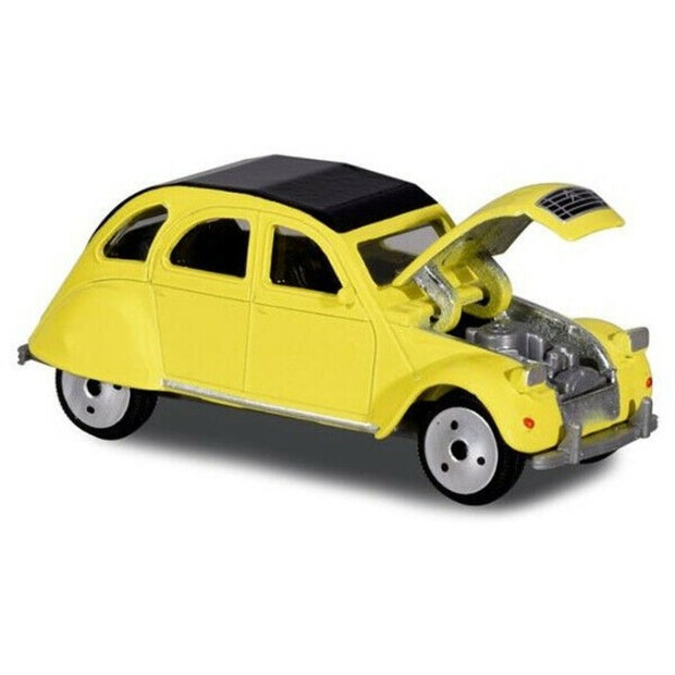 Majorette Vintage Series Citroen 2CV Yellow
