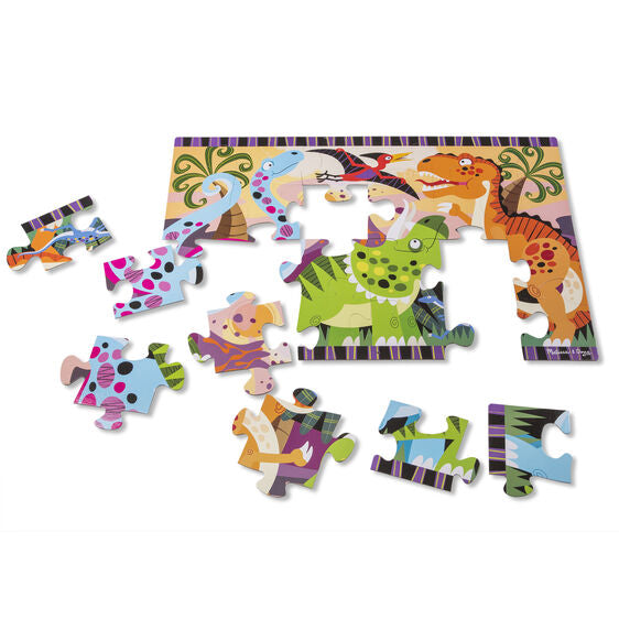 Melissa & Doug Dinosaur Dawn Floor Puzzle (24pc)