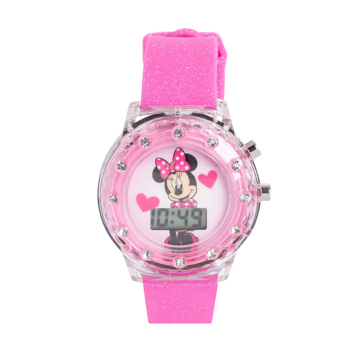 Light Up Digital Watch Minnie Mouse