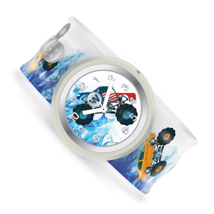 Monster Trucks Watchitude Slap Watch