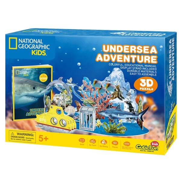 National Geographic 3D Puzzle Underwater